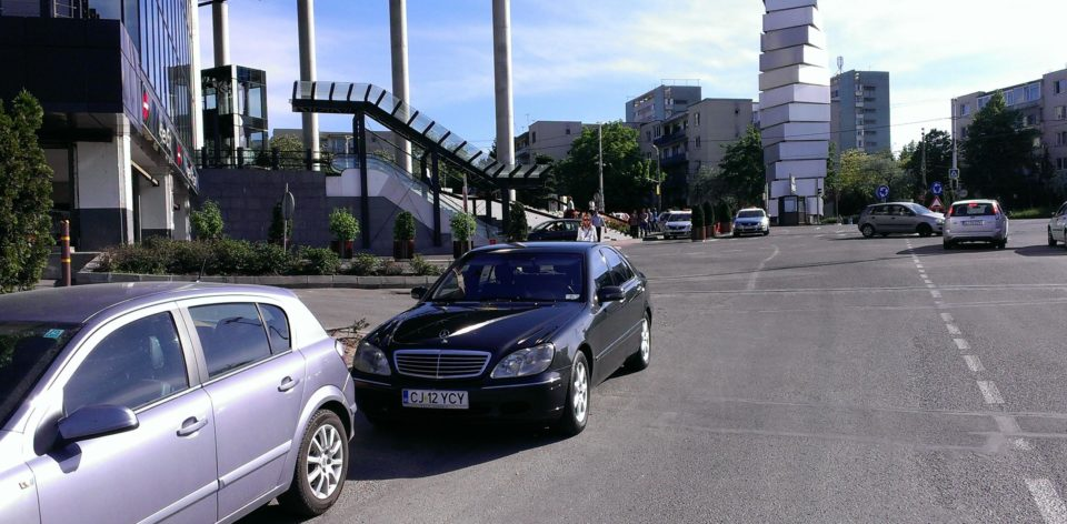 țigan cu Mercedes