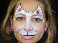 face painting cat - 756×700