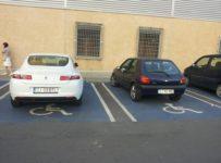parcarea unui hipermarket